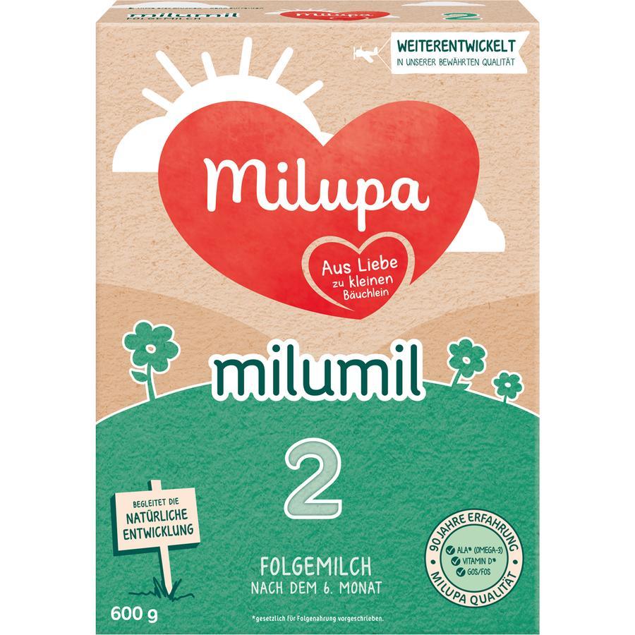 Milupa Folgemilch Milumil 2 600 g nach dem 6. Monat