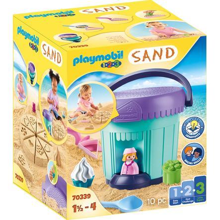 PLAYMOBIL ® 1 2 3 SAND Creative Sand set pekárna 70339