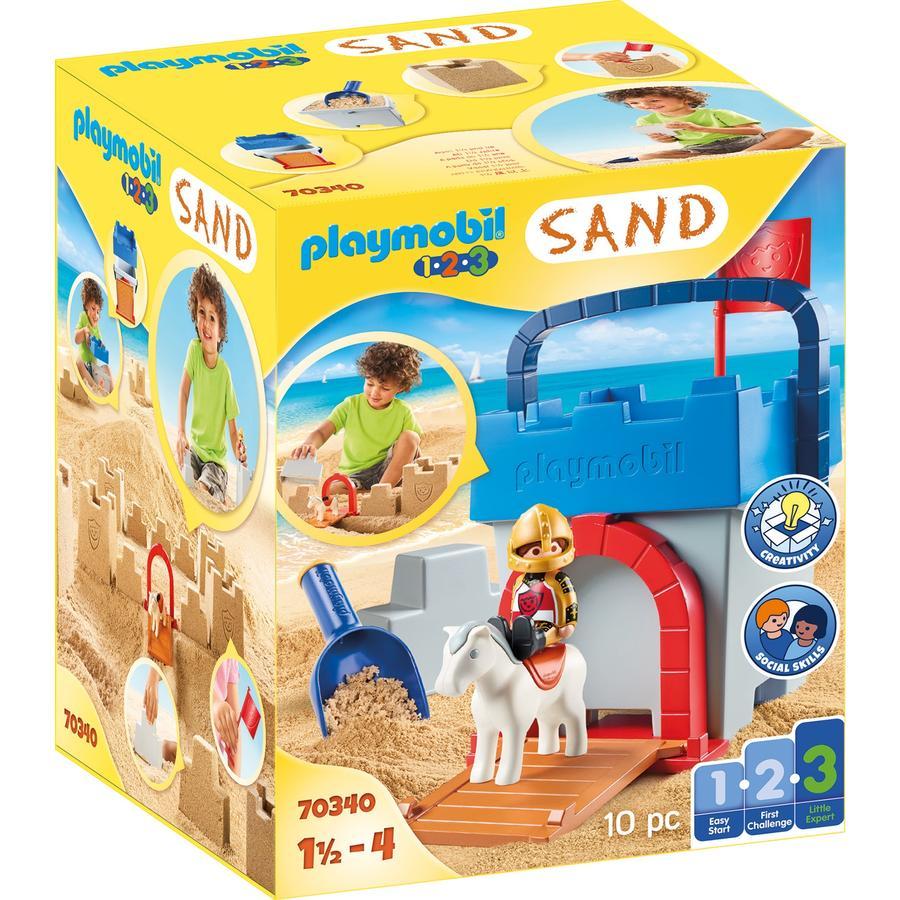 PLAYMOBIL® 1 2 3 Kreativset Sandburg 70340