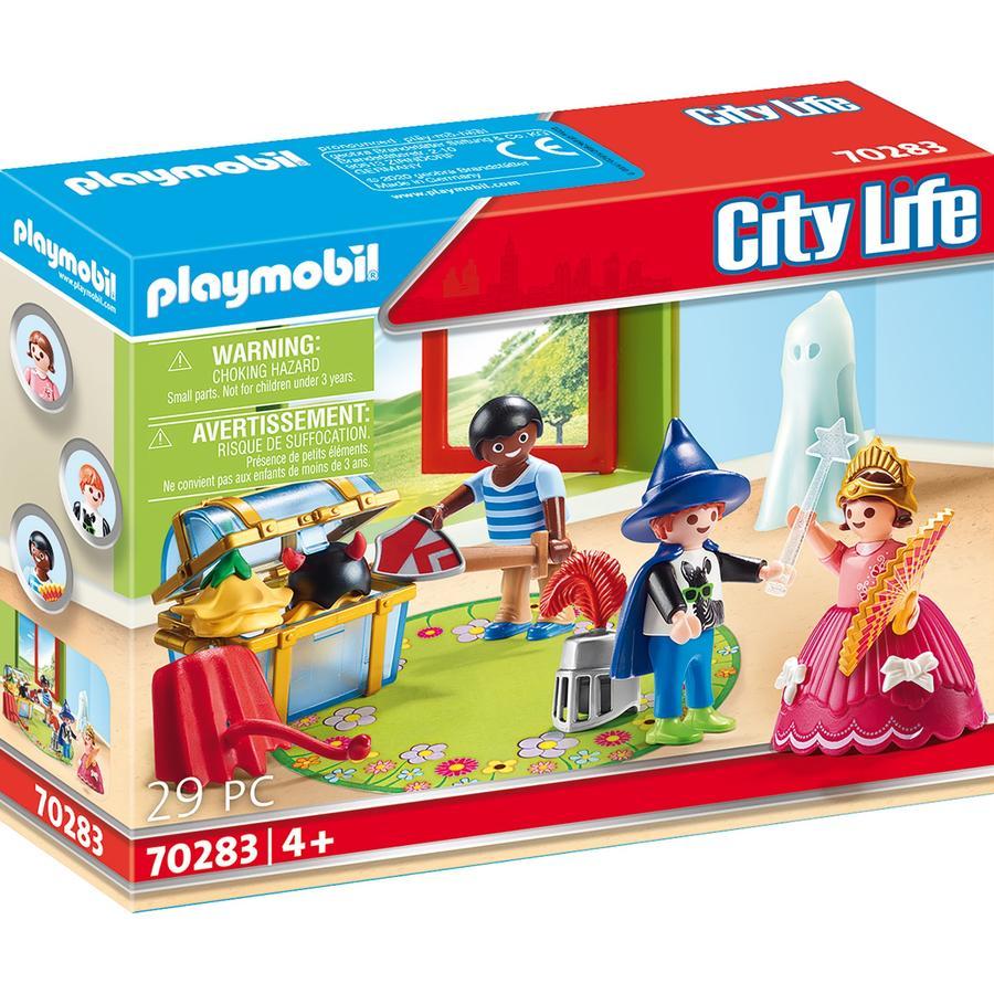 PLAYMOBIL  ® City Life niños con caja de carenado 70283