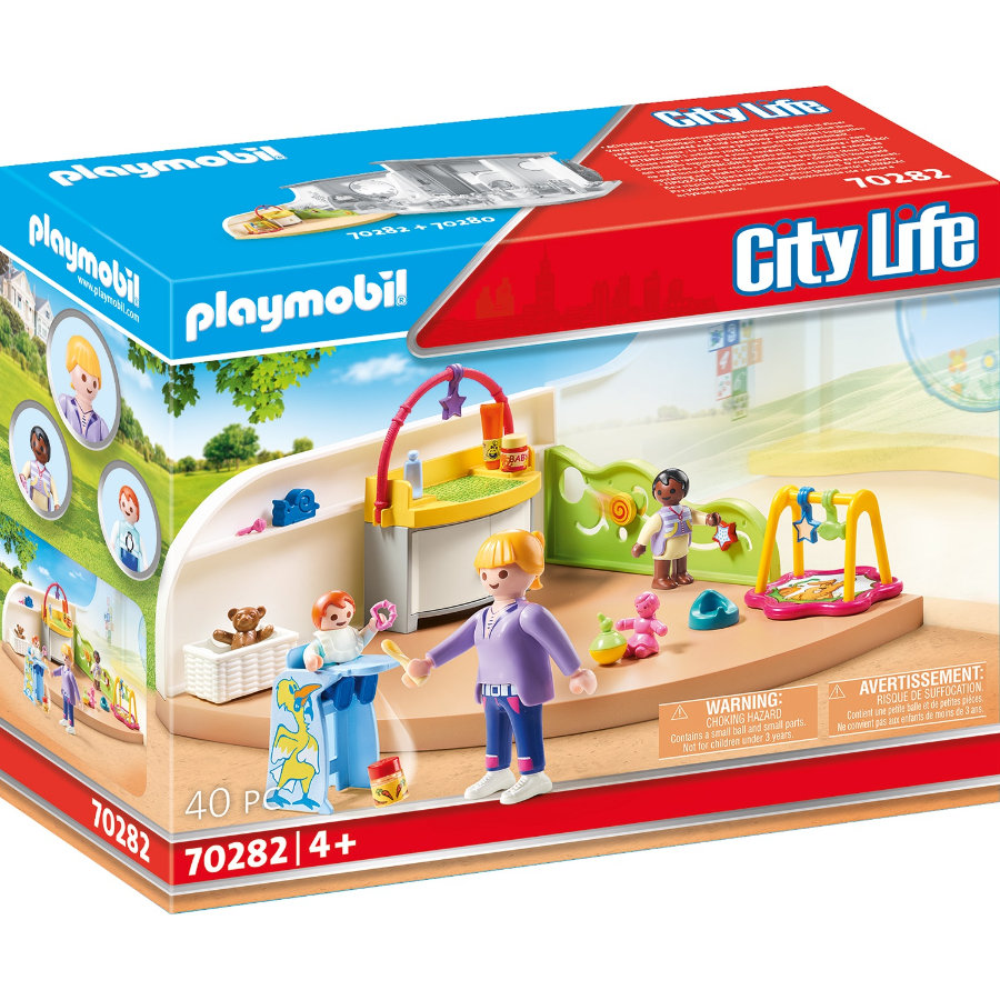 PLAYMOBIL ® City Life småbarnsgruppe 70282