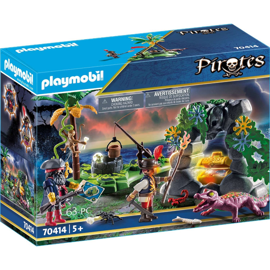 PLAYMOBIL® Pirates Piracka kryjówka skarbów 70414