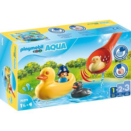 PLAYMOBIL  ® 1 2 3 AQUA eendenfamilie 70271