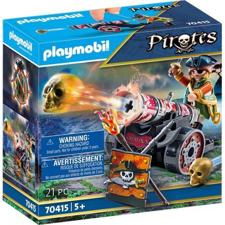 PLAYMOBIL  Piratas Pirata con cañón 70415