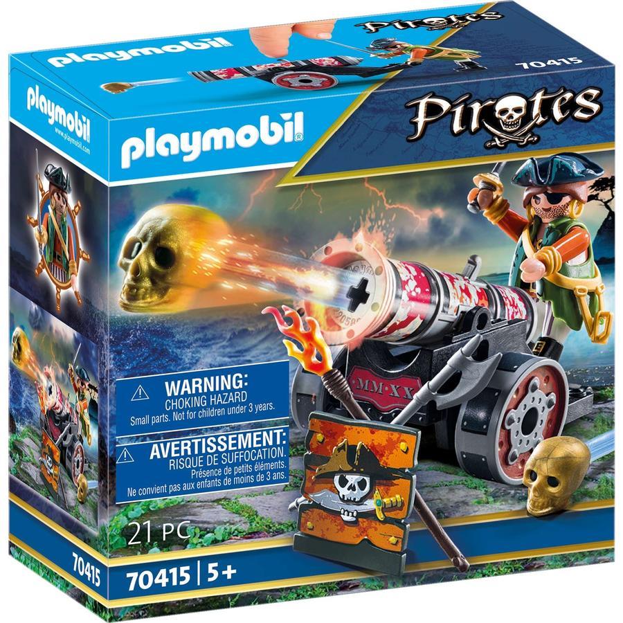 PLAYMOBIL® Pirates Pirat mit Kanone 70415