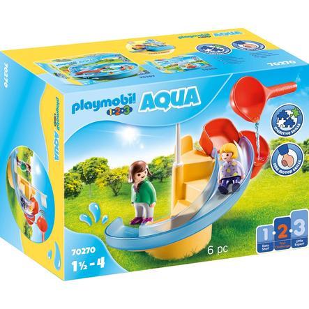 PLAYMOBIL® 1 2 3 AQUA Wasserrutsche 70270