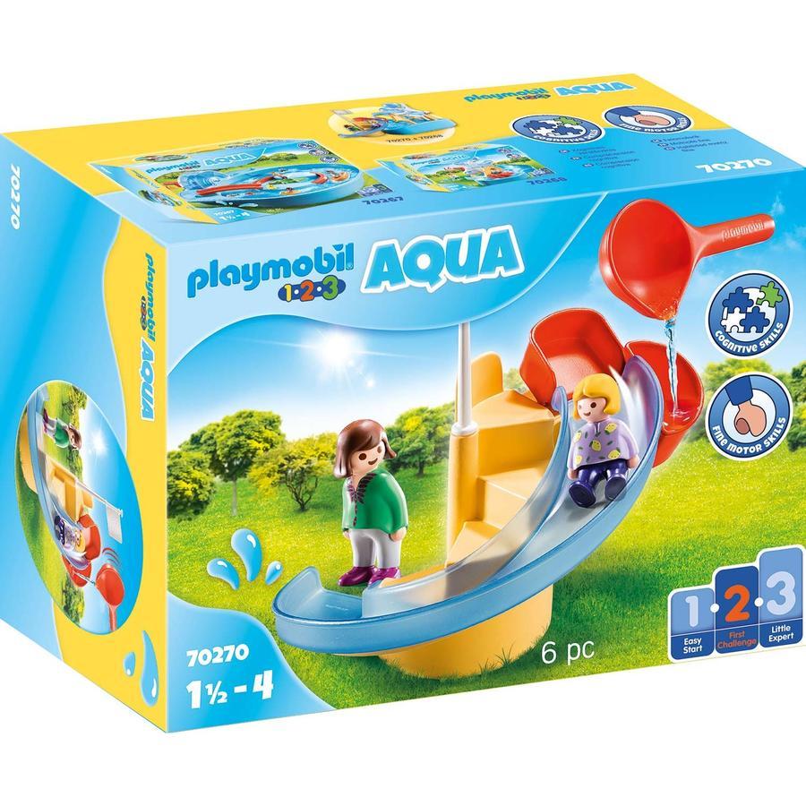 PLAYMOBIL ® 1 2 3 AQUA vodní skluzavka 70270