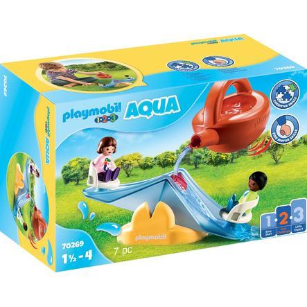 PLAYMOBIL® 1 2 3 AQUA Wasserwippe mit Gießkanne 70269