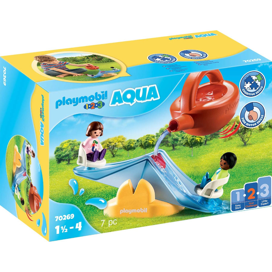 PLAYMOBIL ® 1 2 3 AQUA pila na vodu s konev 70269