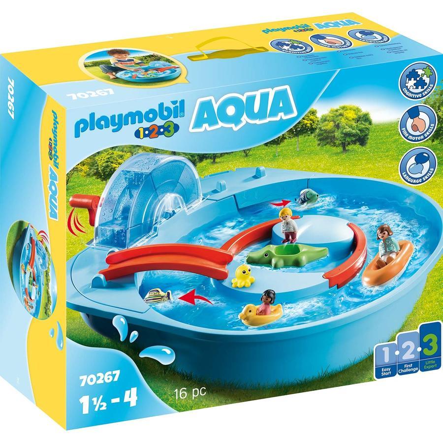 PLAYMOBIL® 1 2 3 AQUA Fröhliche Wasserbahn 70267
