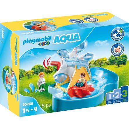 PLAYMOBIL ® 1 2 3 AQUA vannhjul med karusell 70268
