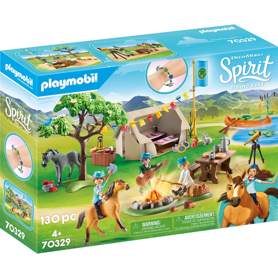Letní tábor PLAYMOBIL ® Spirit Riding Free