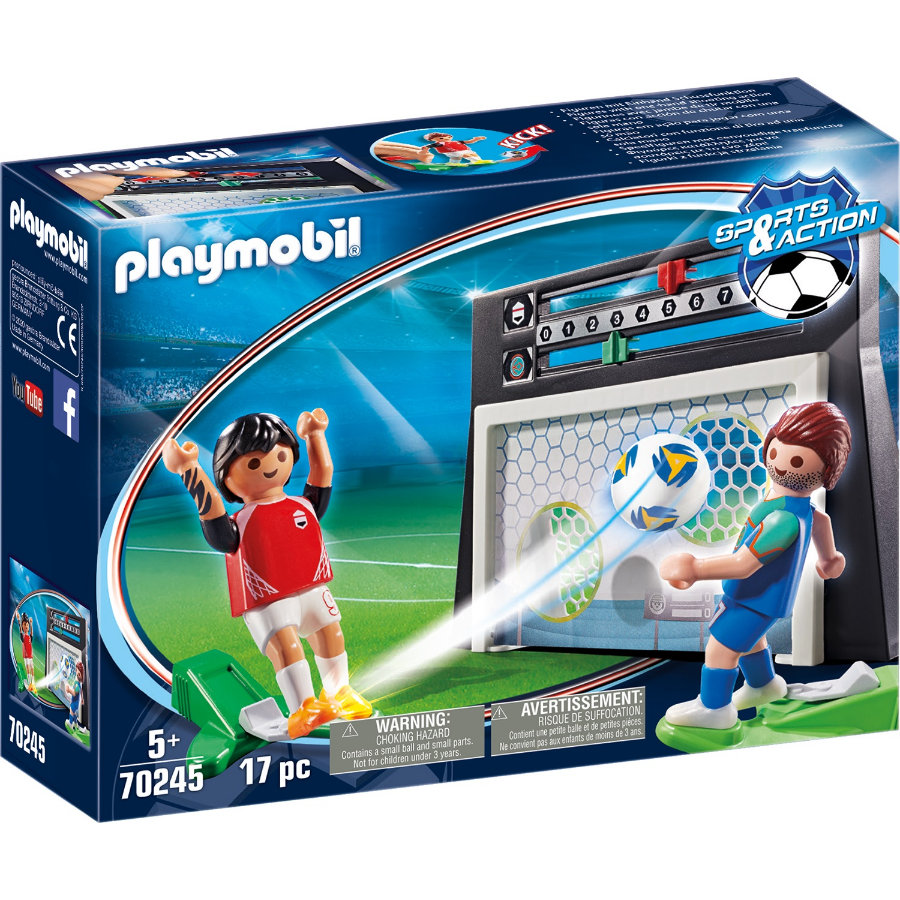 PLAYMOBIL® SPORTS & ACTION Torwandschießen