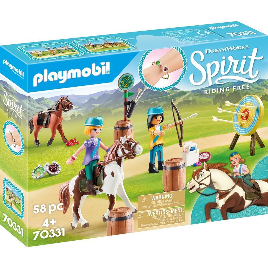 PLAYMOBIL  ® Spirit Cavalcare avventure all'aperto gratis