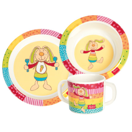 SIGIKID Melamine Set - Rainbow Rabbit