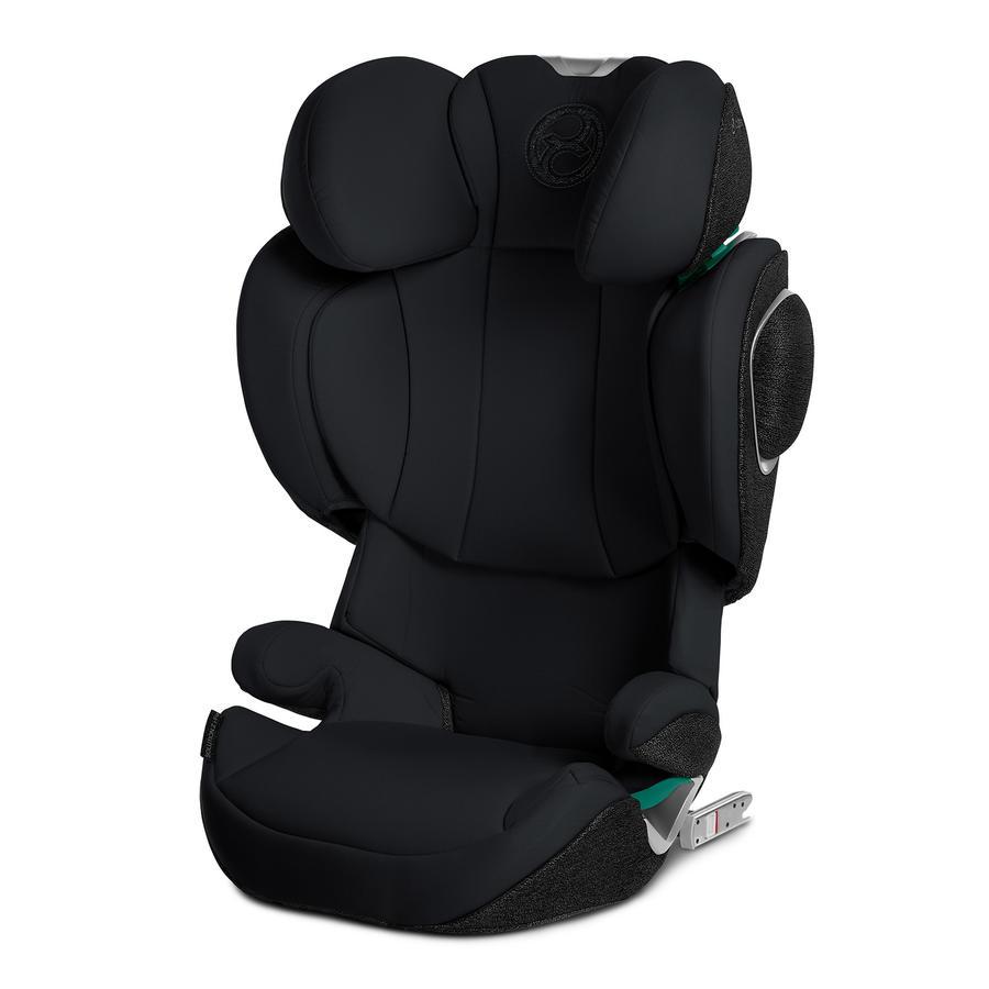 cybex PLATINUM Kindersitz Solution Z i-fix Deep Black