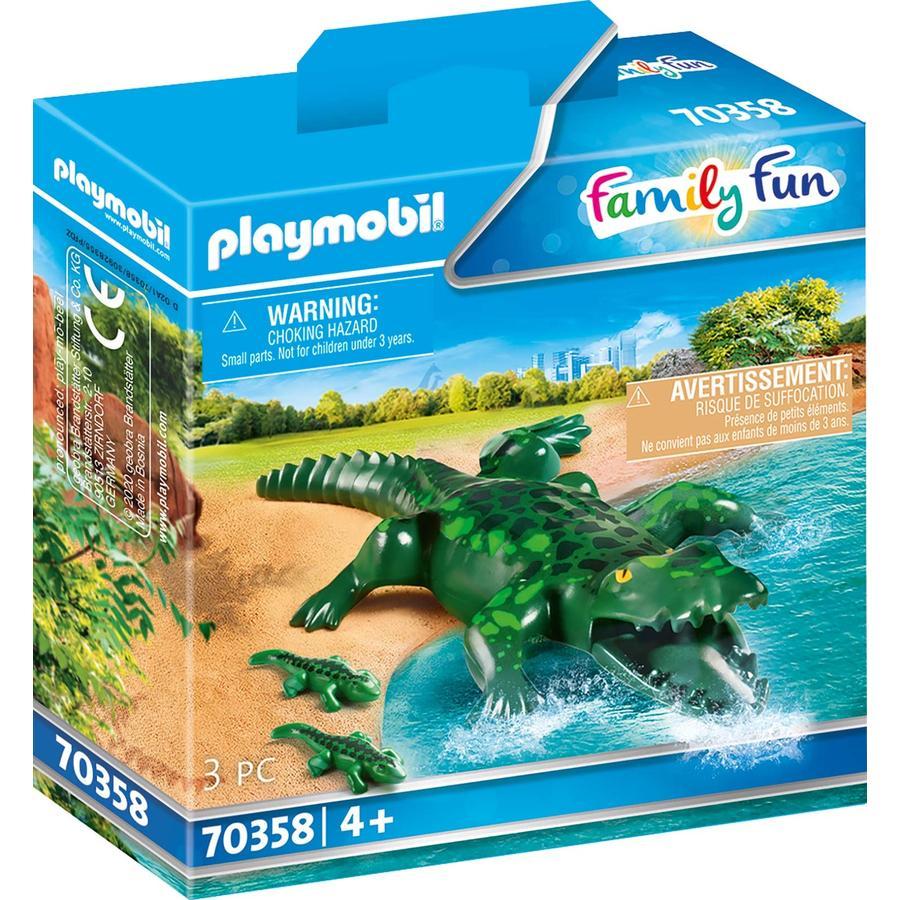 PLAYMOBIL® Family Fun Alligator mit Babys 70358