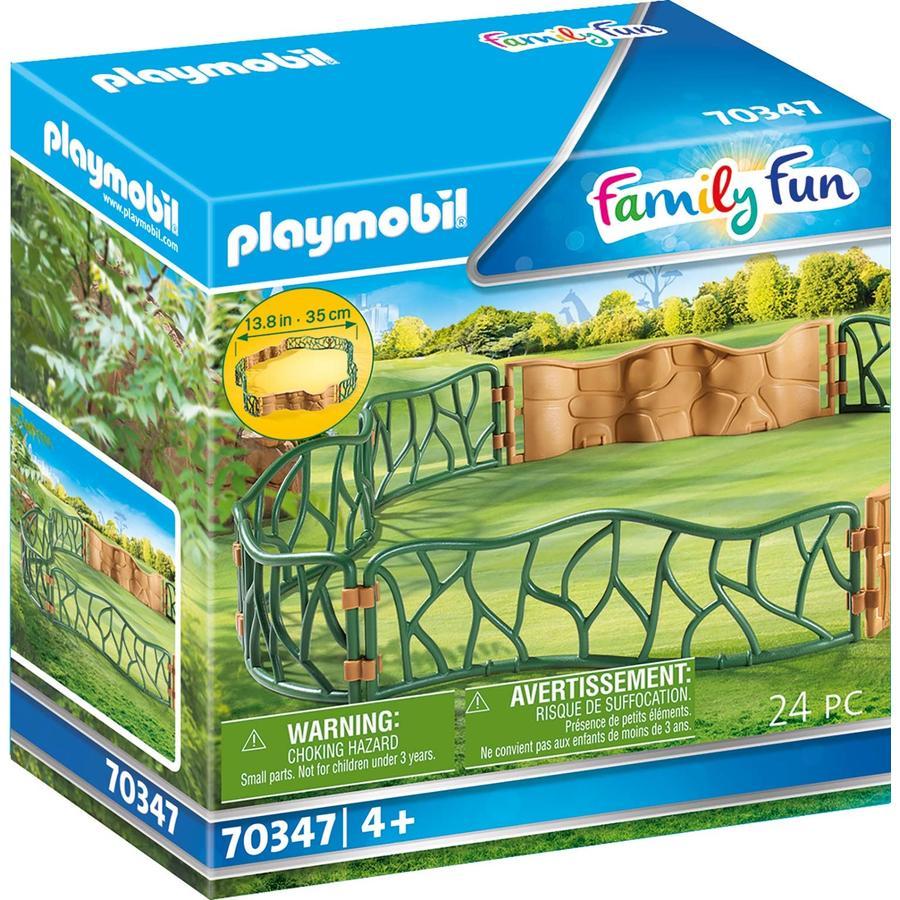PLAYMOBIL® Figurine enclos zoo Family Fun 70347