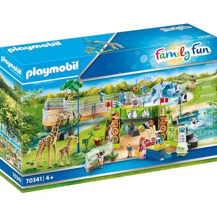 PLAYMOBIL ® Family Fun Min stora äventyrszoo 70341