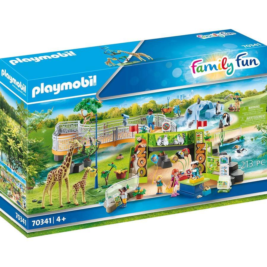 PLAYMOBIL® Family Fun Min store opplevelsesdyrpark 70341