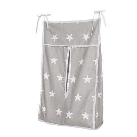 roba Pochette rangement pour couches Little Stars gris