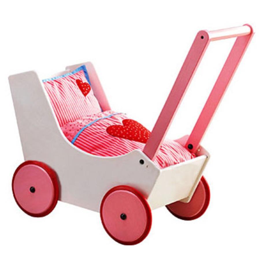 HABA Doll Stroller / Pram Hearts