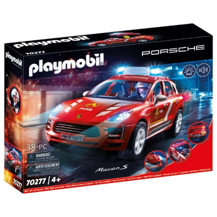 PLAYMOBIL® PORSCHE Porsche Macan S Brandweer 70277
