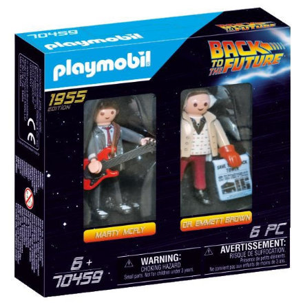 PLAYMOBIL  ® BACK TO THE FUTURE Marty McFly en Dr. Emmett Brown