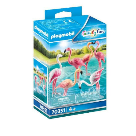PLAYMOBIL ® Family Fun Flamingo Swarm 70351