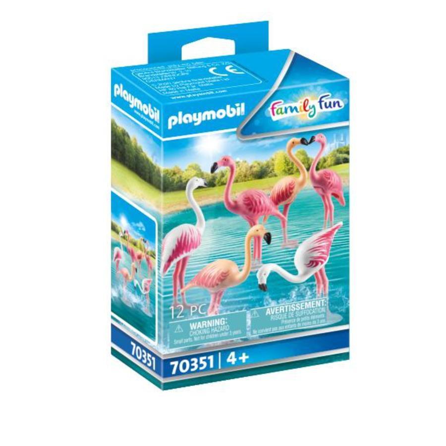 PLAYMOBIL® Family Fun Flamingoschwarm 70351