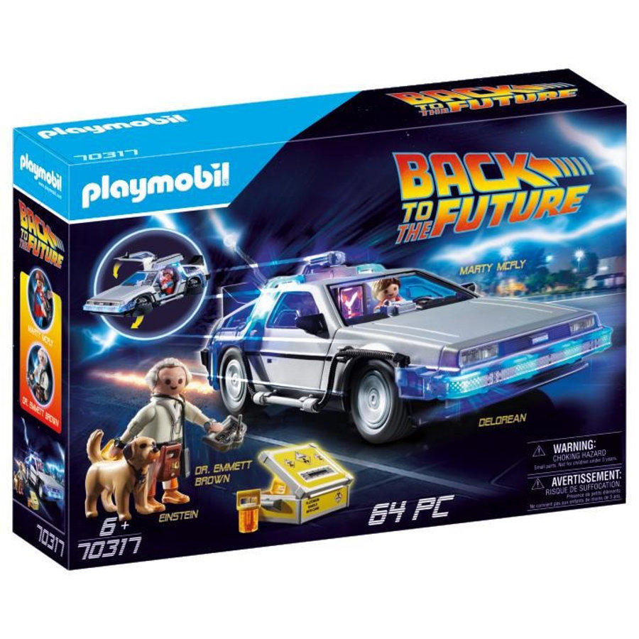 PLAYMOBIL® BACK TO THE FUTURE DeLorean