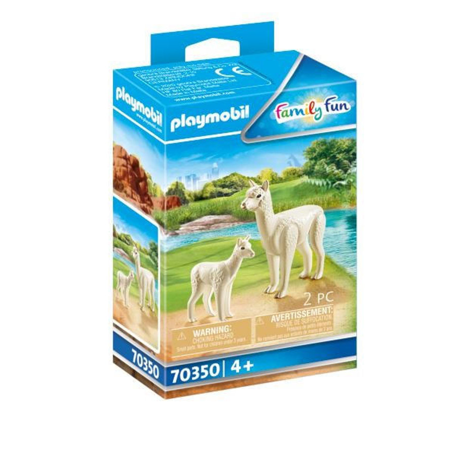 PLAYMOBIL ® Family Fun Alpaca med Baby 70350