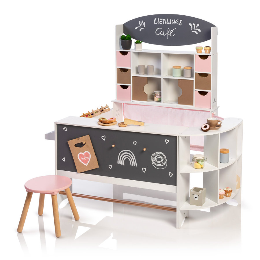 MUSTERKIND® Kaufladen und Cafe Arabica, rose/gold