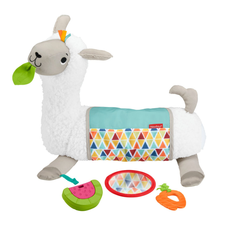 Fisher- Price  4-in1 Lama speelkussen in één keer