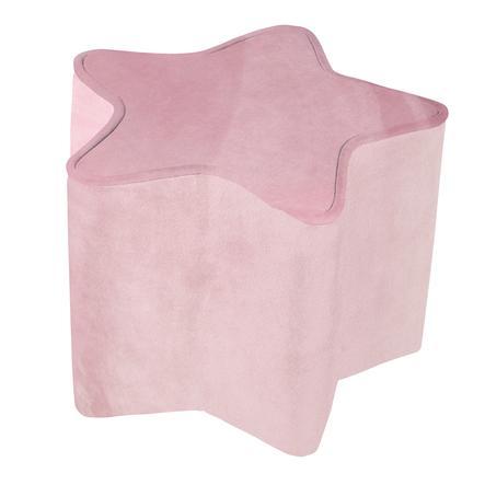 roba Dětská stolička ve tvaru hvězdy, růžová