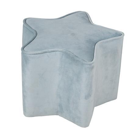 roba Dětská stolička ve tvaru hvězdy, světle modrá
