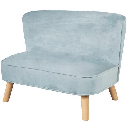 roba Børnets sofa fløjl, lys blå