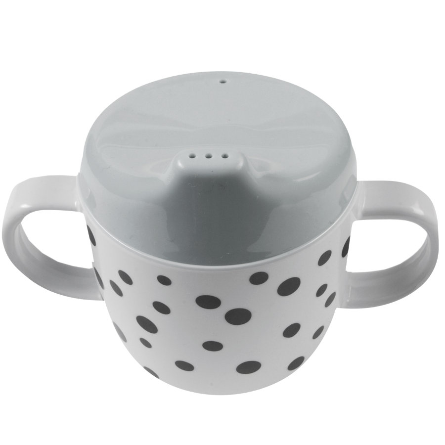 Done by Deer™ Tasse enfant Happy dots gris