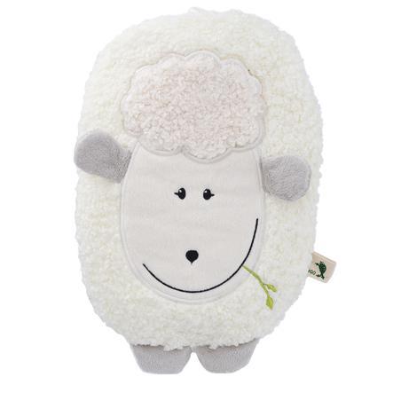 HUGO FROSCH Wärmflasche Öko 0.8 L Flauschbezug Lamm