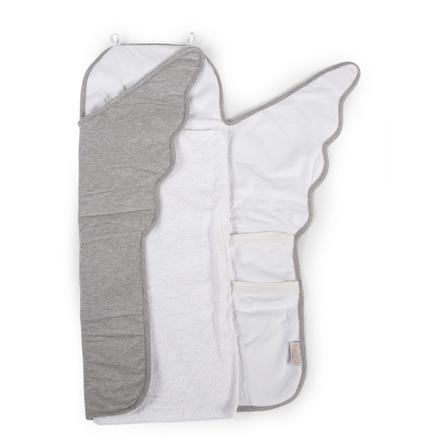 CHILDHOME Matelas à langer ange gris 67x47x3 cm