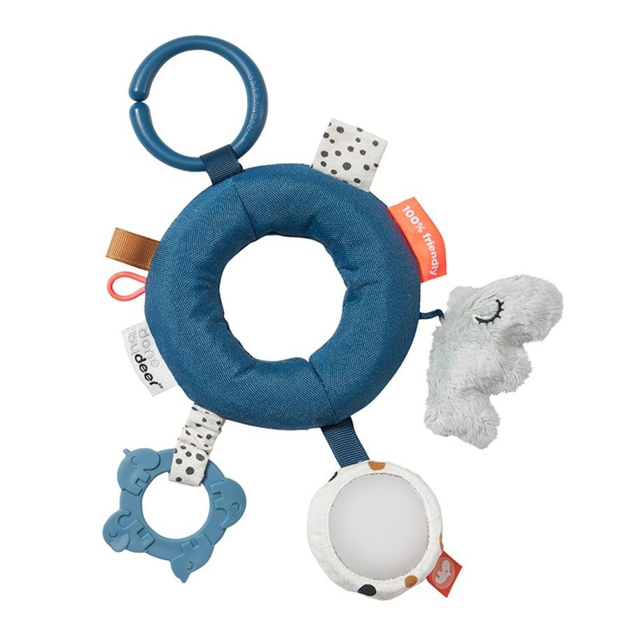 Done by Deer™ Hochet anneau d'activités bleu