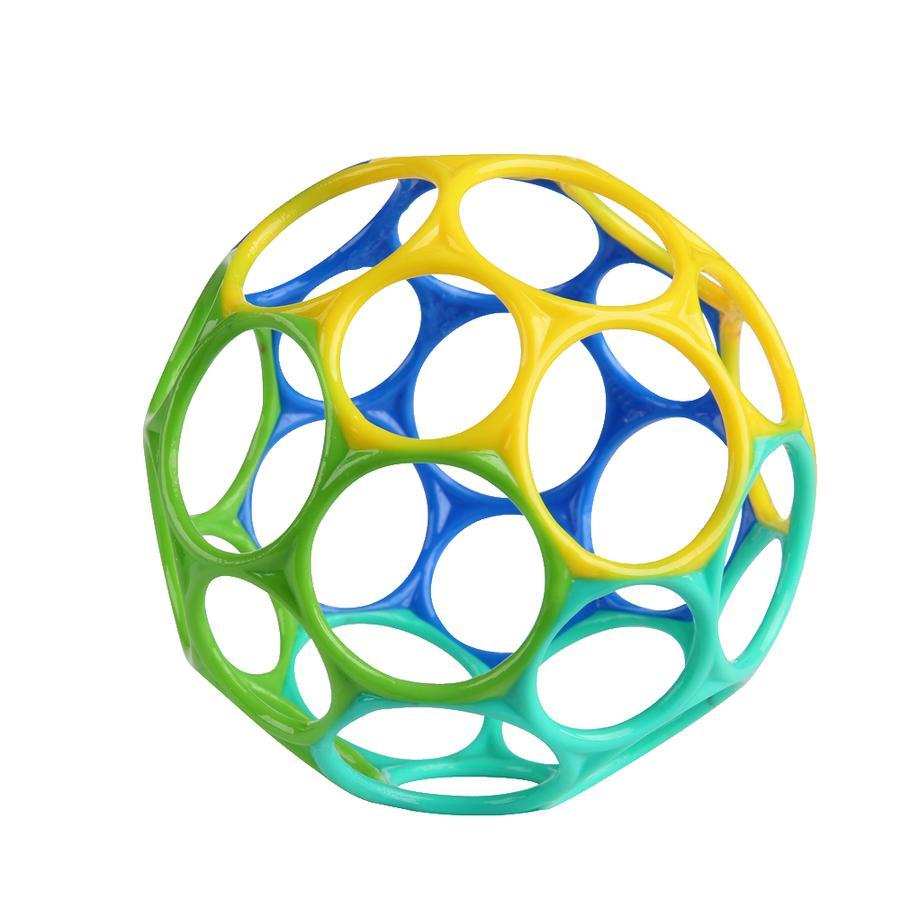 Oball ™ Sonajero azul/verde, 10 cm