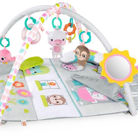 bright starts™ Krabbeldecke mit Spielbogen im Puppenhaus Design