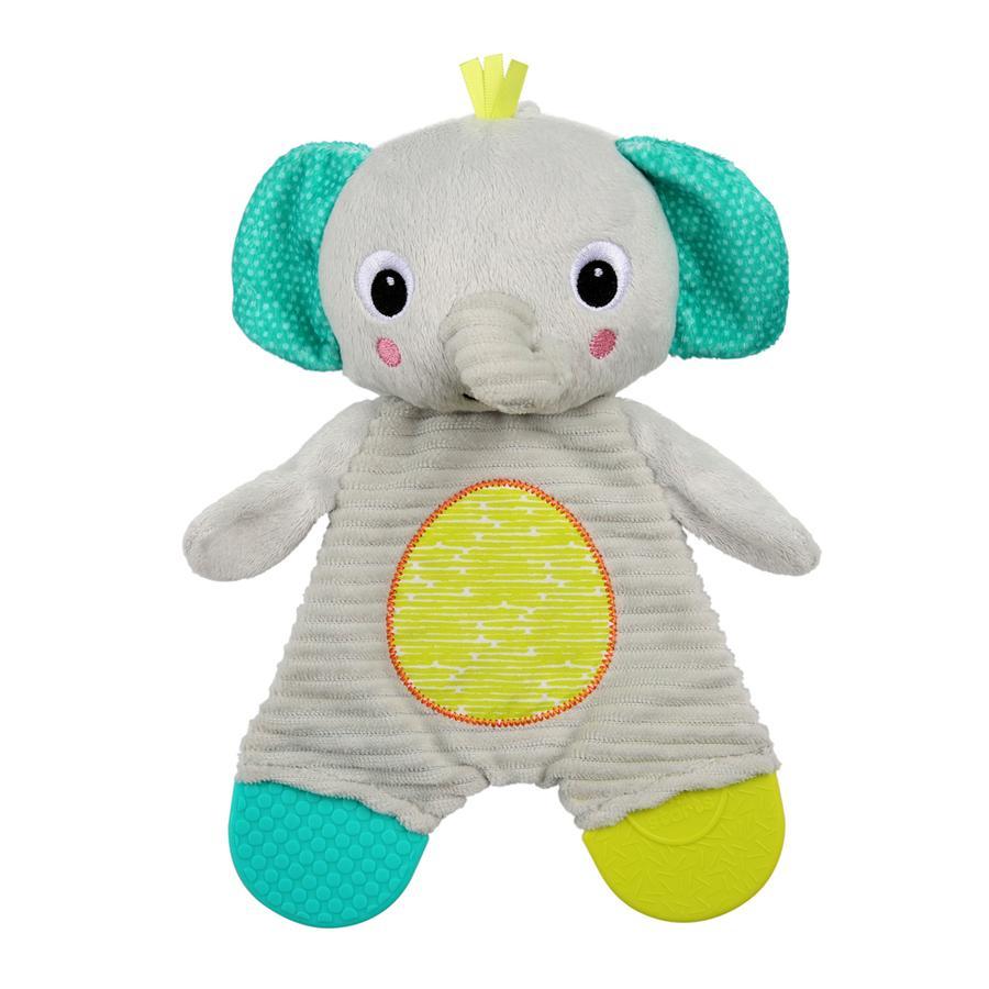 bright starts™ Schmusetuch mit Beißelemente, Elefant
