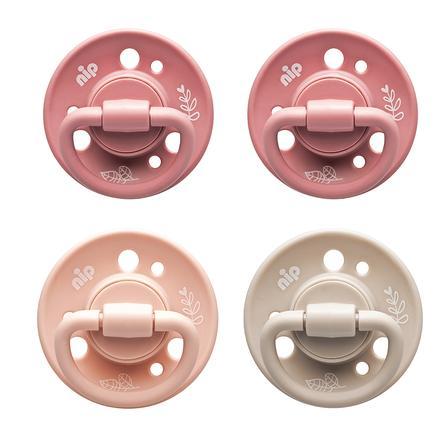 """Rundsauger Cherry """"green"""" Girl Gr. 1 (0-6 Monate) 4 Stück beige/pink/rosa/pink"""