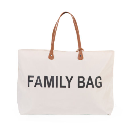 CHILDHOME Sac à langer Family Bag blanc cassé