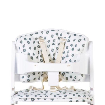 CHILDHOME Coussin d'assise de chaise haute Lambda léopard
