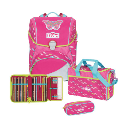 Scout Alpha Set 4-delig Pink Butterfly