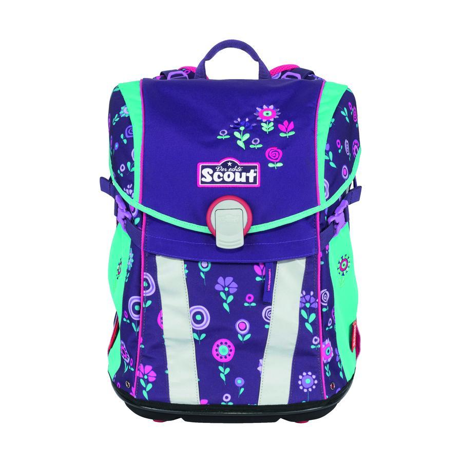 Scout školní batoh Basic Sunny - Blueberry