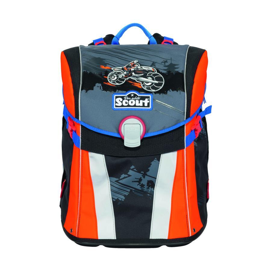 Scout školní batoh Basic Sunny - Dark Ninja